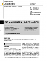 Mandanten-InformationFebruar 2014