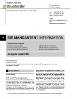 Mandanten-Information April 2017