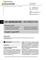 Mandanten-Information August 2014