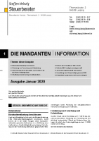 Mandanten-Information Januar 2020